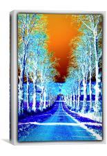 EXPLORE ABSTRACT CUMBRIA, Canvas Print