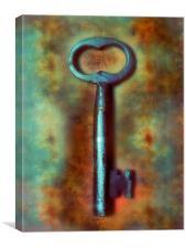 Key, Canvas Print