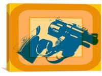 Gun, Canvas Print