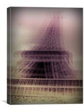 Paris Paris, Canvas Print