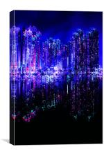 Abstraction city, Canvas Print
