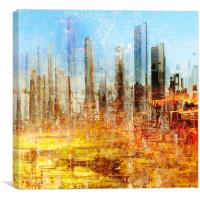 city, Canvas Print