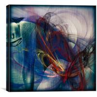 Zola, Canvas Print