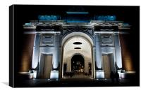 The Menin Gate, Canvas Print