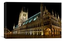 Cloth Hall, Ypres, Canvas Print