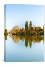 A clear day at Compton Verney, Canvas Print