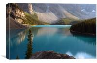moraine lake,canada, Canvas Print