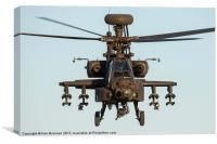 AH 64 Apache head on