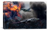 Tornado GR4 Attack, Canvas Print