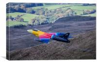 Miss DeMeanour Hawker Hunter 3, Canvas Print