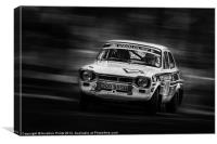 Ford Escort Mk1 tempest rally, Canvas Print
