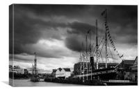 SS Great Britain , Canvas Print