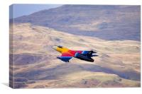 Miss Demeanour Hawker Hunter 4, Canvas Print