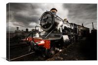 GWR Steam Train, Canvas Print