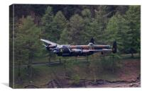 Dambusters 70th Anniversary Flypast, Canvas Print