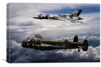 Avro Duo, Canvas Print