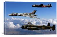 Avro Sisters, Canvas Print