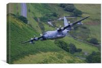 Lockheed MC130 Combat Talon, Canvas Print