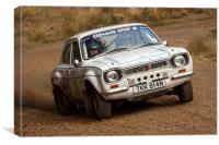 Ford Escort Classic Rally Car, Canvas Print
