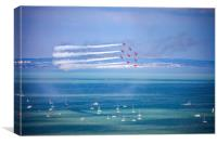 Red Arrows at Eastbourne air show