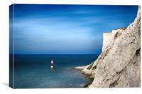 Beachy Head and Light House, Canvas Print