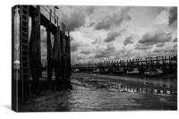 Rye Harbour East Sussex, Canvas Print