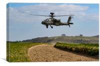 Army Air Corps Apache SPTA, Canvas Print