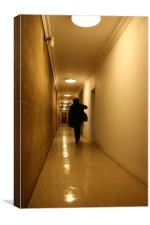 Corridor, Canvas Print