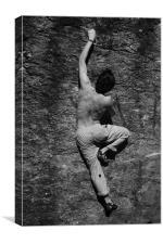 climber, Canvas Print