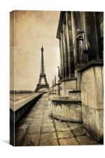 Vintage Paris, Canvas Print