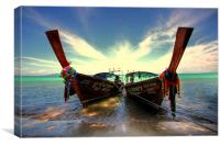 We're officially in Thailand., Canvas Print