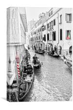 The beauty of Venice, Canvas Print