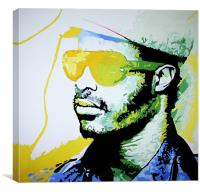 Stevie's Wonder-ful, Canvas Print