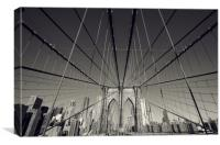 Brooklyn Cables, Canvas Print