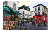 Montmatre, Paris, Canvas Print