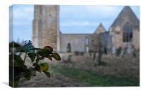 St Mary's Church, Tilney Cum Islington, Canvas Print