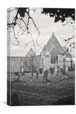 St Mary's Church @ Tilney Cum Islington, Canvas Print