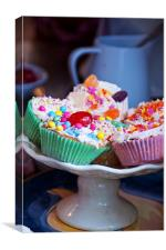 Love Cupcakes, Canvas Print