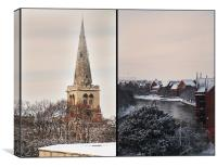 Views of Bedford, Canvas Print