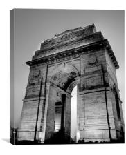 Pride of India - INDIA GATE, Canvas Print
