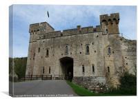 Caldicot Castle, Canvas Print
