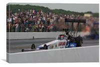 Top Fuel Dragster, Canvas Print