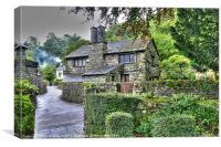 Lake District Cottage, Canvas Print