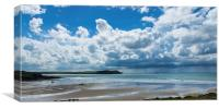 New Polzeath, Canvas Print