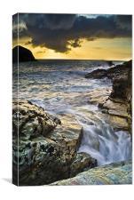 Swirling Seas, Canvas Print