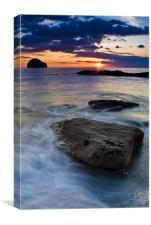 Gull Rock Sunset, Canvas Print