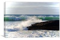 Surf, Canvas Print