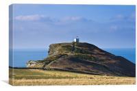 Boscastle Lookout Tower, Canvas Print