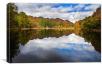 Lakeland reflections, Canvas Print