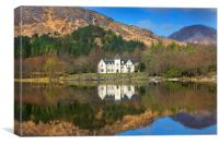Reflections in Loch Shiel, Canvas Print